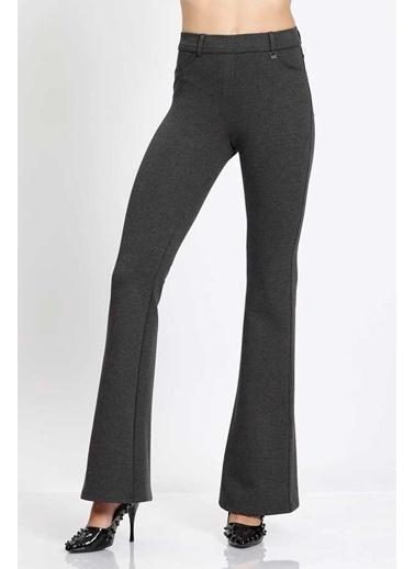 Vitrin Straight  Fit Crop Pantolon Antrasit